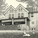 Kathy Rooney Illustration; Evelyn Nesbit House