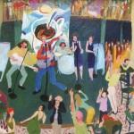 Ray Sokolowski, Painting & Sculpture,Rosebud Dancing, Pittsburgh, PA
