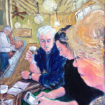 Ray Sokolowski, Painting & Sculpture, The Buena Vista coffee shop, California, Irish Coffee.
