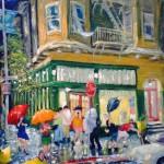 Ray Sokolowski, Painting & Sculpture; San Francisco street scene.