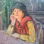 Ray Sokolowski, Painting & Sculpture,Portrait of Kathy Rooney