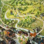 Ray Sokolowski Painting & Sculpture, Ligonier Summer