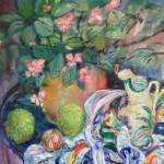 Ray Sokolowski, Painting & Sculpture, Begonia Still Life